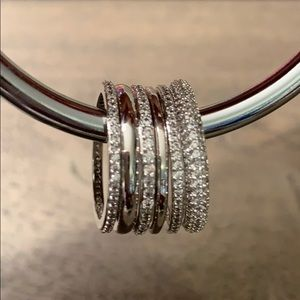 Henri Bendel stackable rings